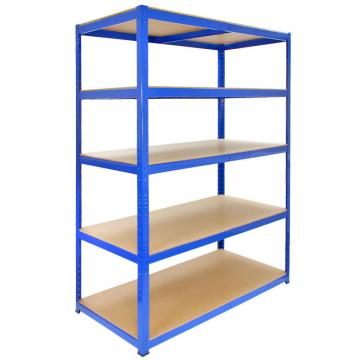 Steel Metal Heavy Supermarket/Warehouse Display Adjustable Rivet Rack Shelving